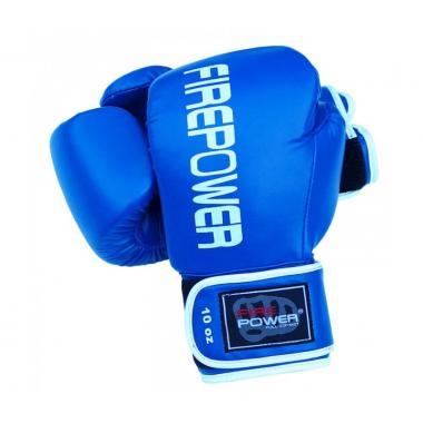 Боксерские перчатки Firepower FPBGА11 blue