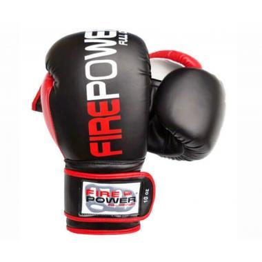 Боксерские перчатки Firepower FPBGA9 black/red