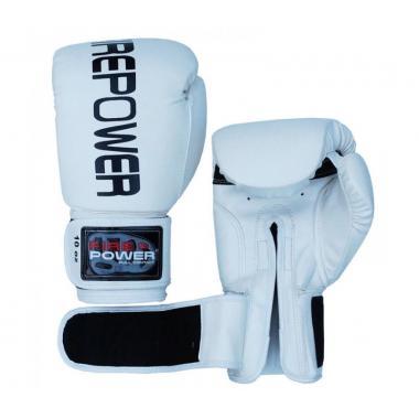 Боксерские перчатки Firepower FPBGA1 white