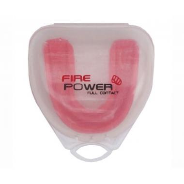 Капа боксерская Firepower FPMP1 красная