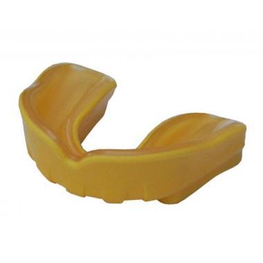 Капа боксерская Firepower Polaris Gel Желтая с прозрачным