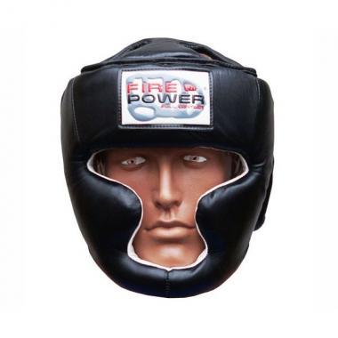 Боксерский шлем FirePower FPHG3 black