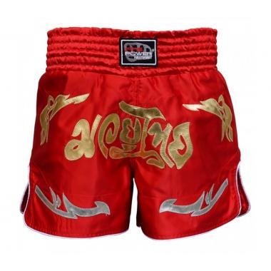 Шорты для тайского бокса FirePower ST-20 красные