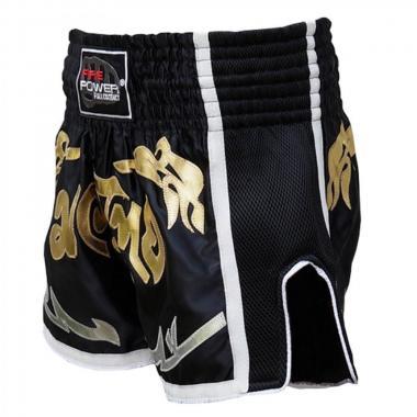 Шорты для тайского бокса FirePower ST-18  черные