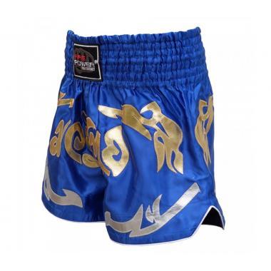 Шорты для тайского бокса FirePower ST-19 синие