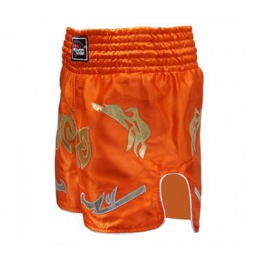 Шорты для тайского бокса FirePower ST-20 оранжевые