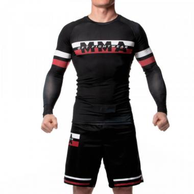 Рашгард GFT MMA Fighter Black Red