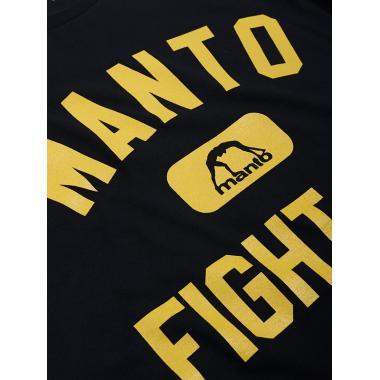 ФУТБОЛКА MANTO T-SHIRT FIGHT CO. BLACK