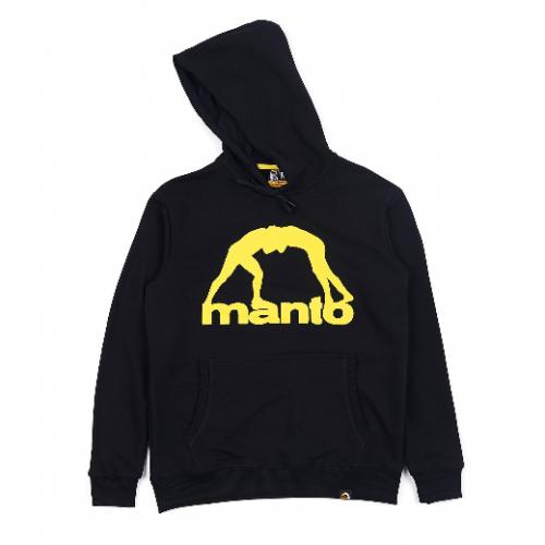 Толстовка Manto  Vibe 21 Black Yellow