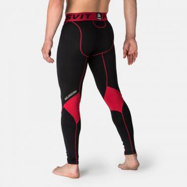 Компрессионные штаны Peresvit Air Motion Compression Leggins Black Red