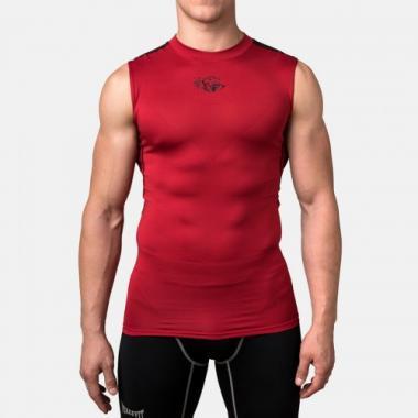 Компрессионная футболка без рукавов Peresvit Air Motion Compression Tank Red Black