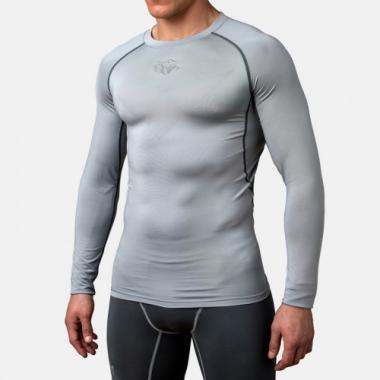 Компрессионная футболка Peresvit Air Motion Compression Long Sleeve T-Shirt Heather Grey