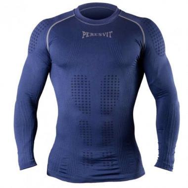 Компрессионная футболка с длинным рукавом Peresvit 3D Perfomance Rush compression Navy