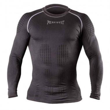 Компрессионная футболка с длинным рукавом Peresvit 3D Perfomance Rush compression черная