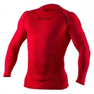 Компрессионная футболка с длинным рукавом Peresvit 3D Perfomance Rush compression Red