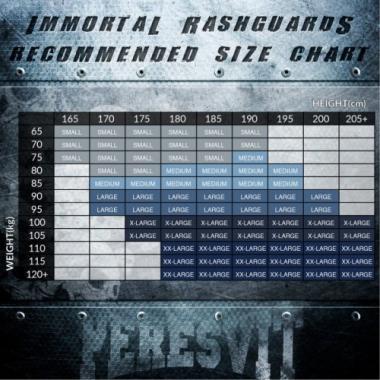 Рашгард Peresvit Immortal Silver Force Rashguard Long Sleeve Lava