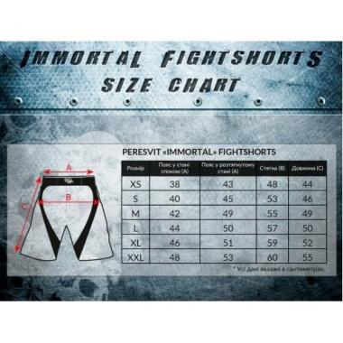 Шорты Peresvit Immortal Fightshorts Snowstorm