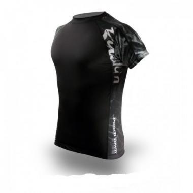 Рашгард PunchTown Ryushin Black Rash Guard Short Sleeve