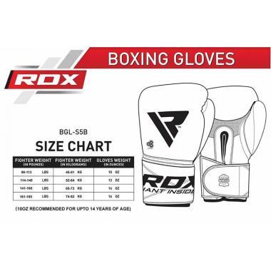 Боксерские перчатки RDX Pro Gel S5
