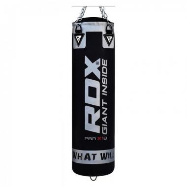 Боксерский мешок RDX Leather Black 1,2 м