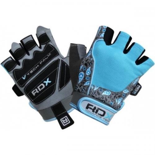 Женские перчатки для фитнеса RDX Blue
