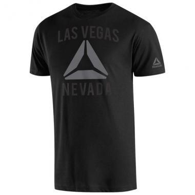 Футболка Reebok Dana White Black UFC 209 Las Vegas