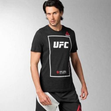 Футболка Reebok UFC Fan Triblend Tee Black