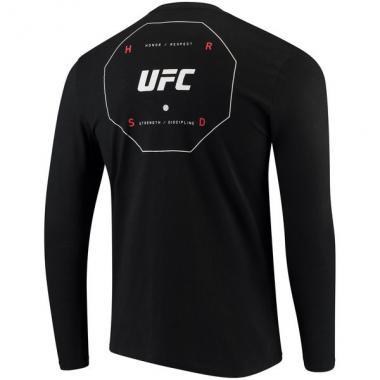 Лонгслив Reebok Black UFC Long Sleeve T-Shirt