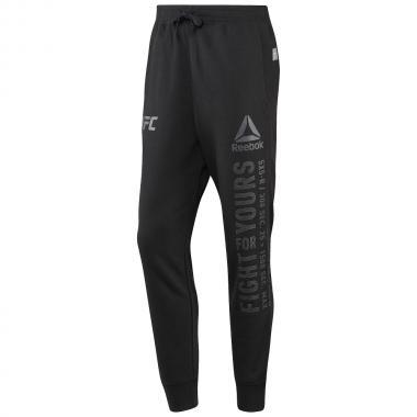 Спортивные штаны UFC Reebok Black