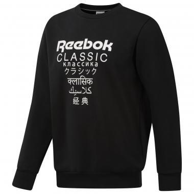Свитшот Reebok Classics Unisex Fleece black