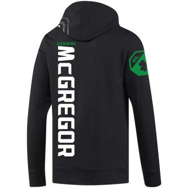 Спортивная кофта Reebok Conor McGregor Black UFC Fight Night