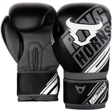 Боксерские перчатки Ringhorns Nitro Black Grey