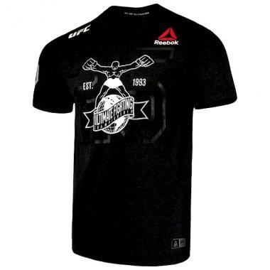 ФУТБОЛКА UFC FIGHT NIGHT DECORATED JERSEY BLACK