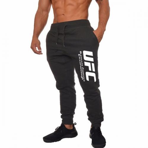 Спортивные штаны UFC black white