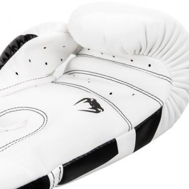 Боксерские перчатки Venum Elite Boxing Gloves White Black