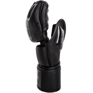 Перчатки Venum Undisputed 2.0 MMA Gloves - Skintex Leather - Mate Black