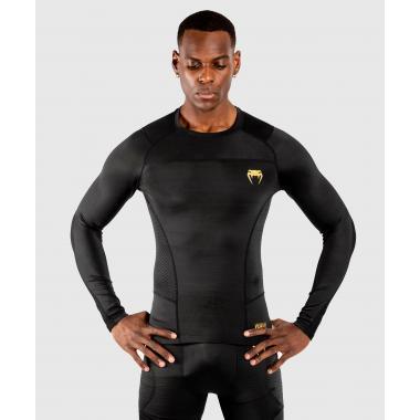 Рашгард Venum G-Fit Rashguard Long Sleeves Black Gold
