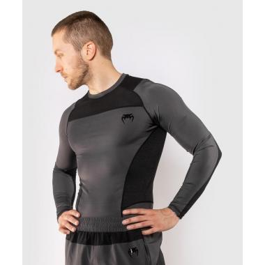 Рашгард Venum G-Fit Rashguard Long Sleeves Grey Black