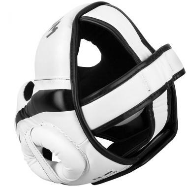 Шлем Venum Elite Headgear White Black