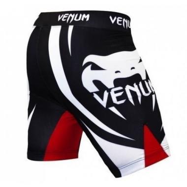 Компрессионные шорты Venum Electron 2.0 Vale Tudo shorts - Black