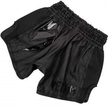 Шорты для тайского бокса Venum Giant Muay Thai Shorts Black Black