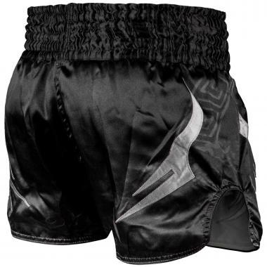 Шорты для тайского бокса Venum Gladiator 3.0 Muay Thai Shorts Black Black