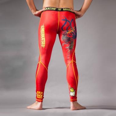 Компрессионные штаны MEERKATSU Fire Rooster