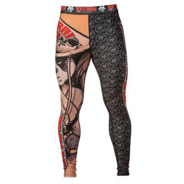 Компрессионные штаны TATAMI Samurai Panda