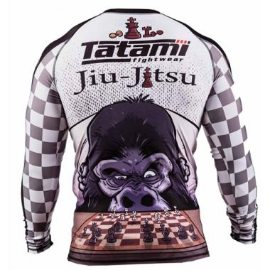 Рашгард TATAMI Chess Gorilla long sleeve