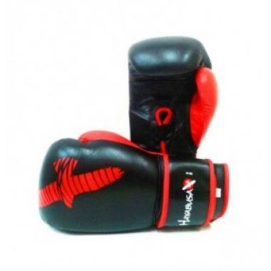 Перчатки боксерские Hayabusa Pro-Am Gloves Black-red