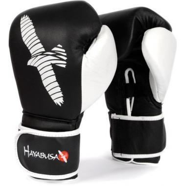 Перчатки боксерские Hayabusa Pro Gloves Black-white