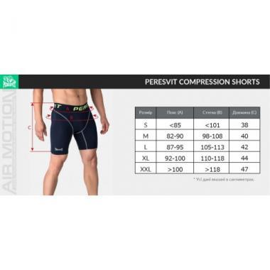 Компрессионные шорты Peresvit Air Motion Compression Shorts Heather Grey