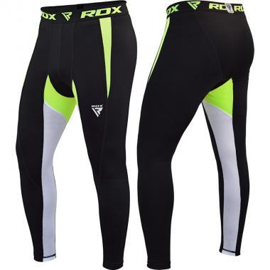 Компрессионные штаны RDX Lycra green