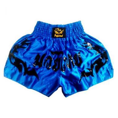 Шорты для Тайского бокса Thai Professional S13 Blue-Black